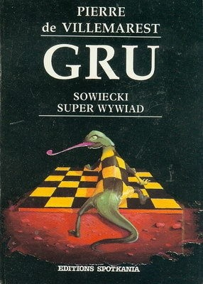 Okładka książki GRU. Sowiecki super wywiad