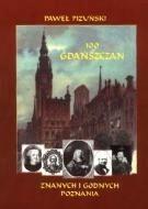 Okładka książki 100 gdańszczan znanych i godnych poznania