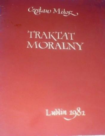 Okładka książki Traktat moralny