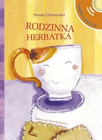 Okładka książki Rodzinna herbatka + CD