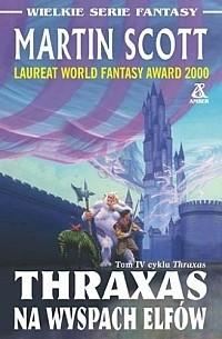 Okładka książki Thraxas na Wyspach Elfów