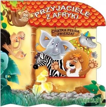 Okładka książki Przyjaciele z Afryki