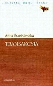 Okładka książki Transakcyja albo Opisanie całego życia jednej sieroty przez żałosne treny od tejże samej pisane roku 1685 (fragmenty)