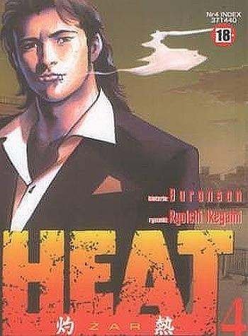 Okładka książki Heat t.4