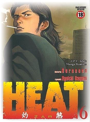 Okładka książki Heat t.6