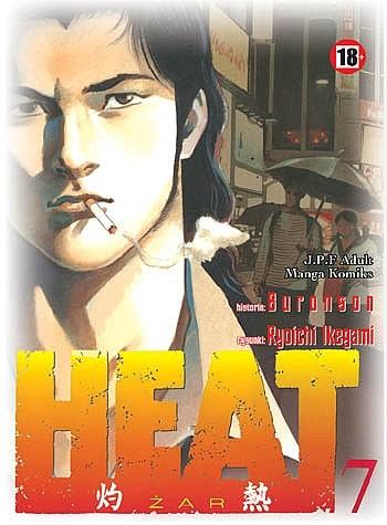 Okładka książki Heat t.7