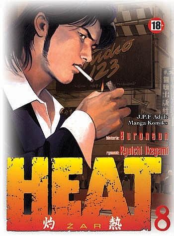 Okładka książki Heat t.8