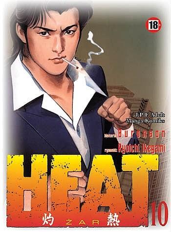 Okładka książki Heat t.10