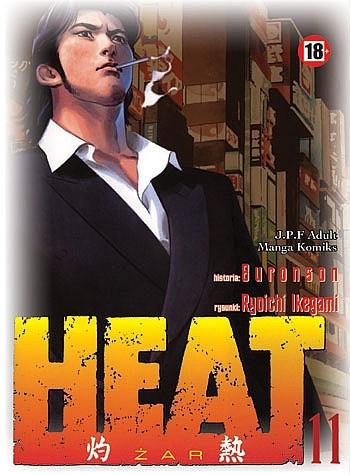 Okładka książki Heat t.11
