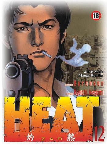 Okładka książki Heat t.12