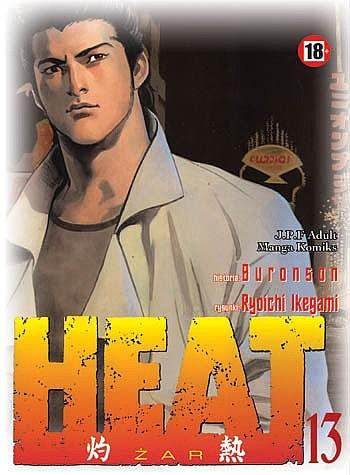 Okładka książki Heat t.13