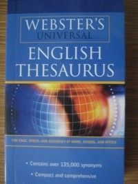 Okładka książki Webster's Universal English thesaurus