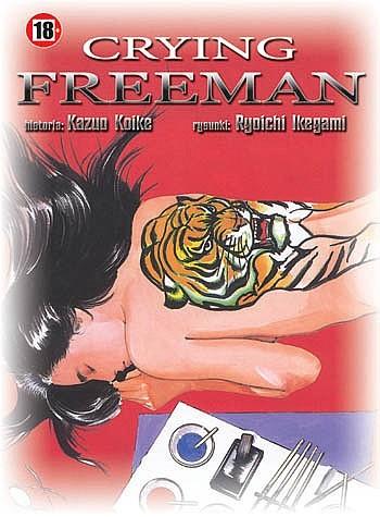 Okładka książki Crying Freeman tom 8