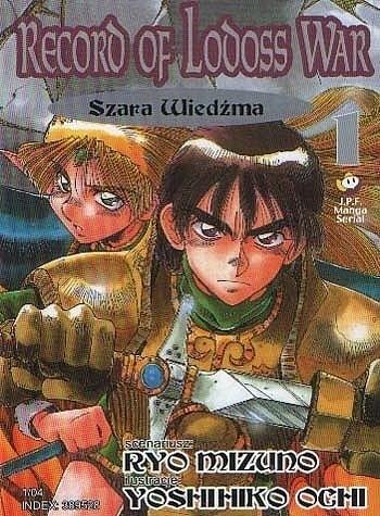 Okładka książki Record of Lodoss War - 1 - Szara Wiedźma