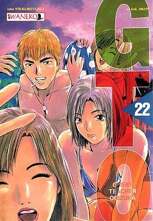 Okładka książki GTO - Great Teacher Onizuka - 22