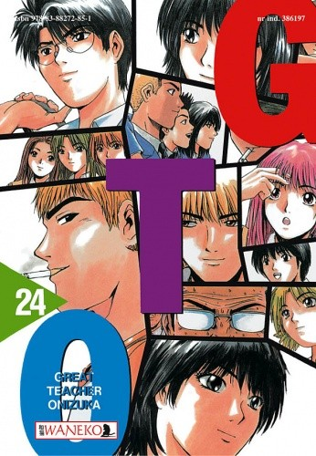 Okładka książki GTO - Great Teacher Onizuka. Tom 24