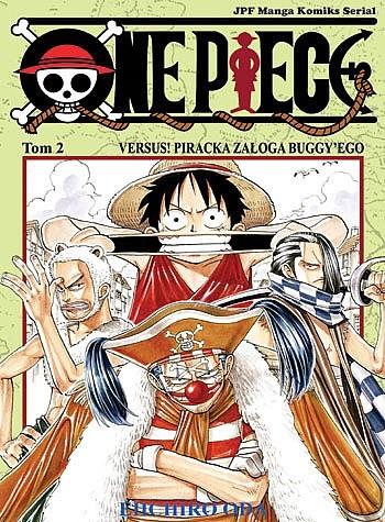 Okładka książki One Piece t. 2 - Versus! Piracka załoga Buggy'ego