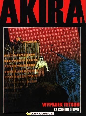 Okładka książki Akira tom 1. Wypadek Tetsuo