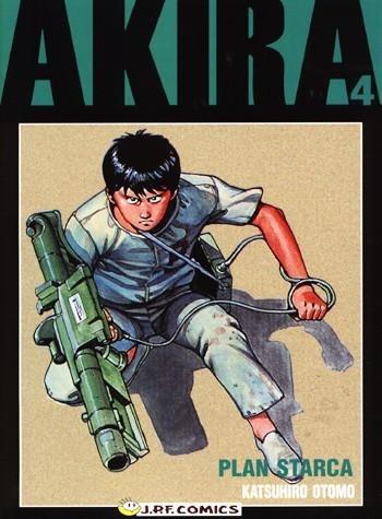 Okładka książki Akira tom 4. Plan Starca