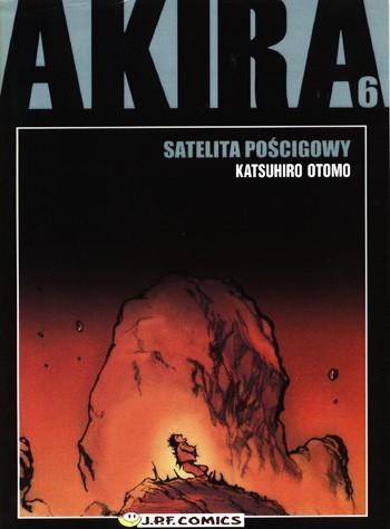 Okładka książki Akira tom 6. Satelita pościgowy