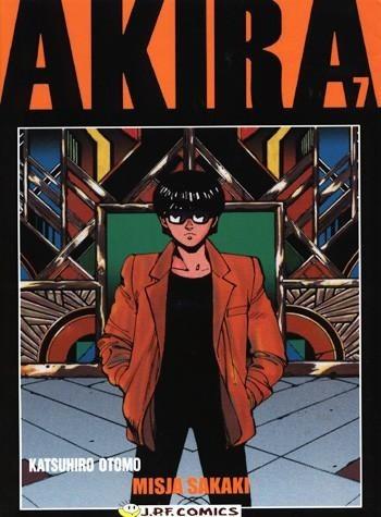Okładka książki Akira tom 7. Misja Sakaki
