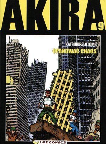 Okładka książki Akira tom 9. Opanować chaos