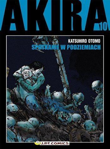 Okładka książki Akira tom 10. Spotkanie w podziemiach