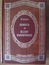Okładka książki Zemsta. Śluby Panieńskie