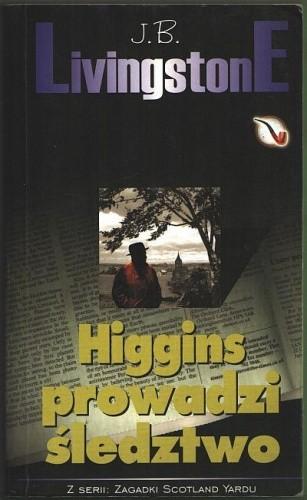Okładka książki Higgins prowadzi śledztwo