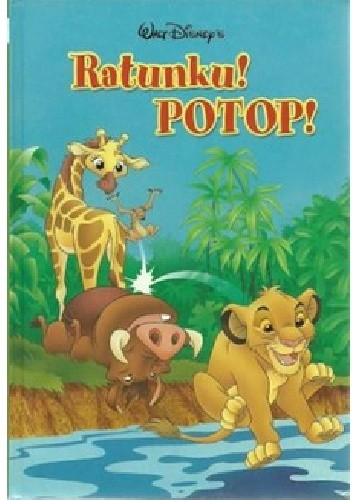 Okładka książki Ratunku! Potop!