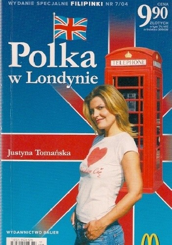 Okładka książki Polka w Londynie