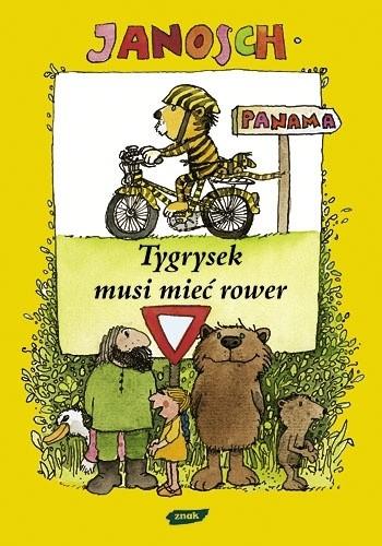 Okładka książki Tygrysek musi mieć rower