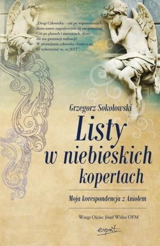 Okładka książki Listy w niebieskich kopertach. Moja korespondencja z aniołem
