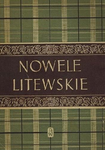 Okładka książki Nowele litewskie