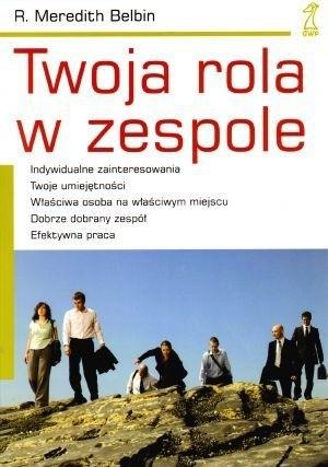 Okładka książki Twoja rola w zespole