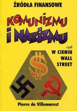 Okładka książki Źródła finansowe komunizmu i nazizmu