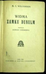 Okładka książki Widma Zamku Dunulm