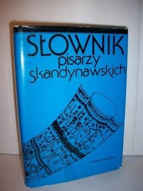 Okładka książki Słownik pisarzy skandynawskich