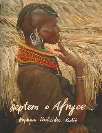Okładka książki Szeptem o Afryce...