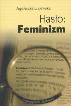 Okładka książki Hasło: Feminizm