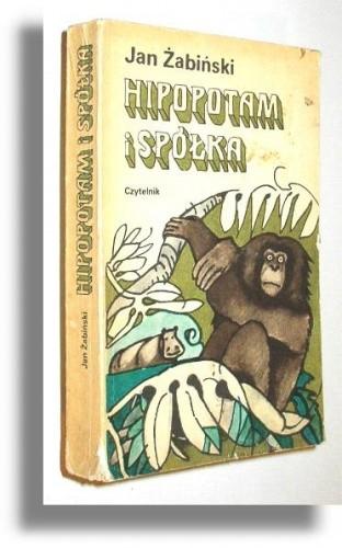 Okładka książki Hipopotam i spółka
