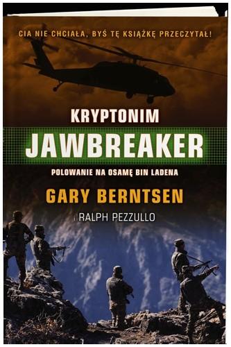 Okładka książki Kryptonim Jawbreaker.  Atak na Osamę Bin Ladena i Al Kaidę
