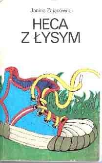 Okładka książki Heca z Łysym