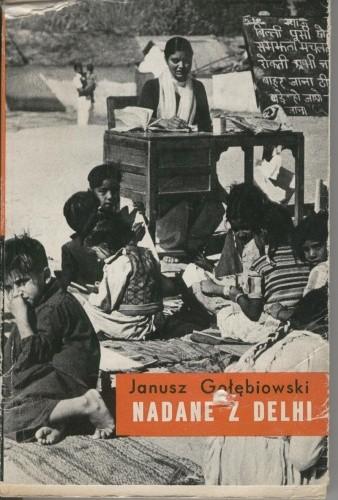 Okładka książki Nadane z Delhi
