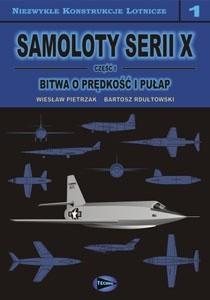 Okładka książki Samoloty serii X. Cz. 1