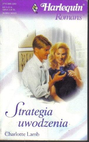 Okładka książki Strategia uwodzenia