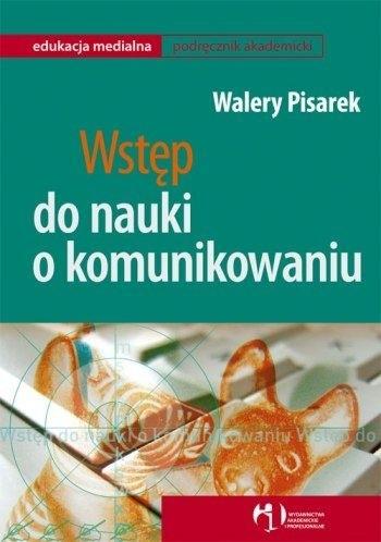 Okładka książki Wstęp do nauki o komunikowaniu