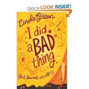 Okładka książki I did a bad thing