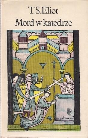 Okładka książki Mord w katedrze