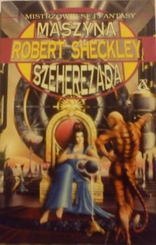 Okładka książki Maszyna Szeherezada